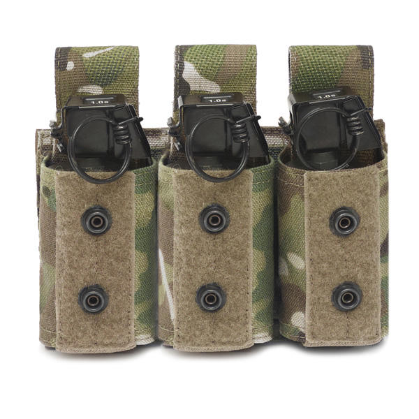 Warrior Assault Systems Triple 40mm Flash Bang Pouch